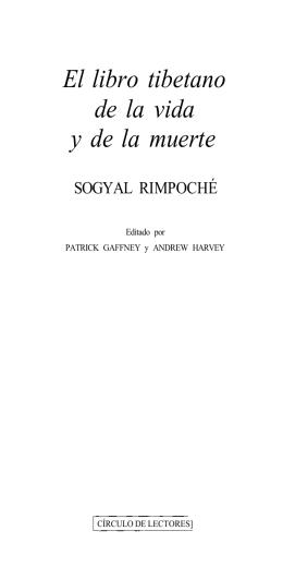 El Libro Tibetano de la Vida y de la Muerte - Sogyal