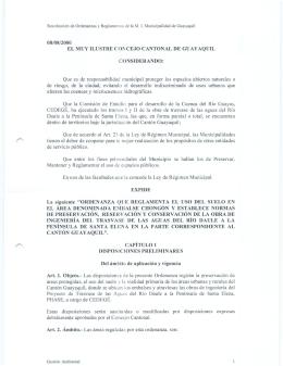 7. Ordenanza - Reforma Ordenanza - Oficio