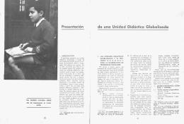 de una Unidad Didáctica Globalizada