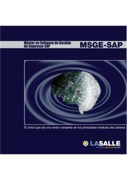 Master MSGE_SAP.FH11
