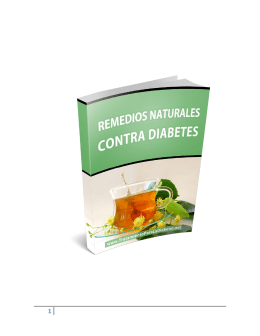 Remedios Naturales Contra Diabetes