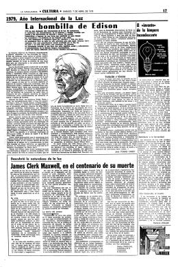 I.a bombilla de Edison