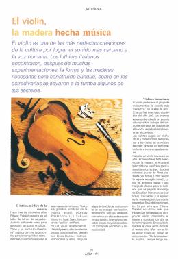El violín,
