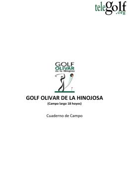 GOLF OLIVAR DE LA HINOJOSA