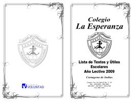 Textos - Colegio de la Esperanza