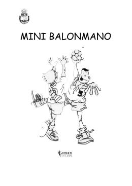 Reglamento de Mini Balonmano - Real Federación Española de