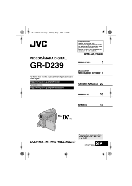 GR-D239 - Instructions Manuals