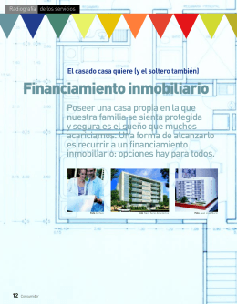 Financiamiento inmobiliario