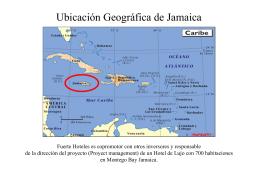 Ubicación Geográfica de Jamaica