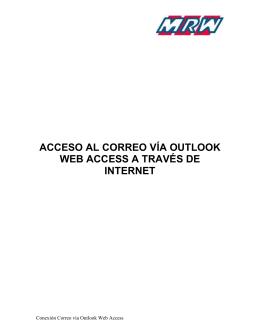 Acceso via OWA