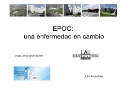 EPOC: una enfermedad en cambio