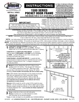 1500 SERIES POCKET DOOR FRAME\IN1500PD FOR WEBSITE