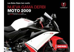 NUEVA GAMA DERBI MOTO 2009