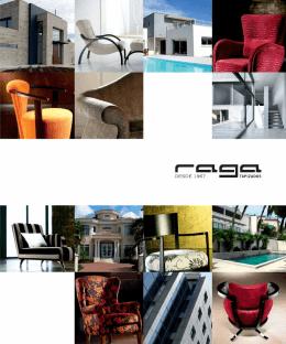 RAGA – catálogo 2012