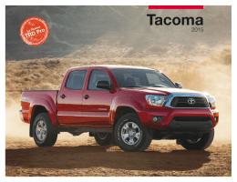 2015 Toyota Tacoma eBrochure (Español)