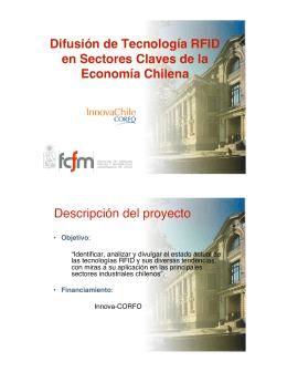 Difusión de Tecnología RFID en Sectores Claves de la