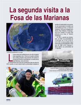 Cameron y las Fosas Marianas