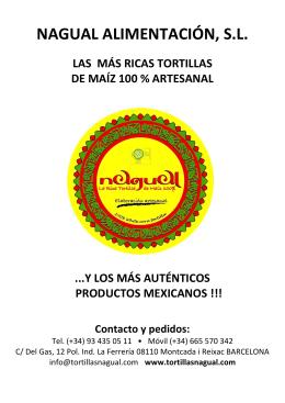 CATALOGO NAGUAL 2013
