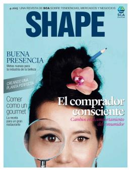 SP SCA magazine SHAPE 4 2013 El nuevo consumidor