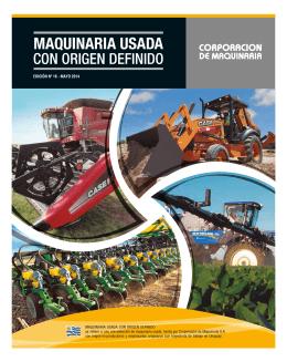 Usados MAYO 2014 - Corporación de Maquinaria
