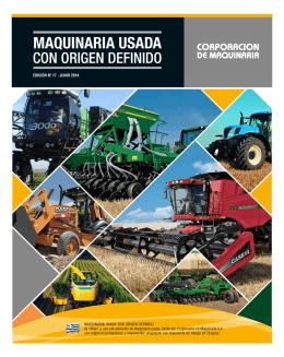 Usados JUNIO 2014 - Corporación de Maquinaria