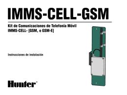 Kit de Comunicaciones de Telefonía Móvil IMMS-CELL