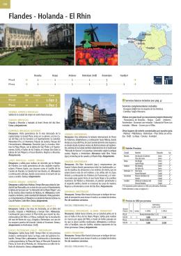 Flandes - Holanda - El Rhin