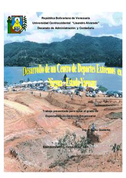BARQUISIMETO, Octubre de 2005 Trabajo presentado para optar al