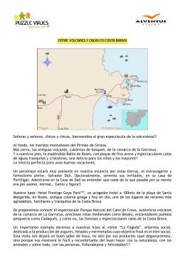 Entre calas y volcanes en Costa Brava para adolescentes