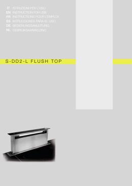 S-DD2-L FLUSH TOP
