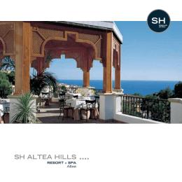 folleto SH Altea Hills