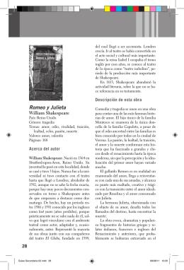 Romeo y Julieta - Lectores en Red