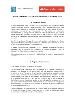 reglamentoes - Casa da América Latina