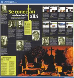 Tecno Muertos - El Universal