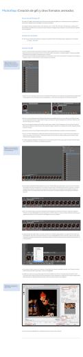 Photoshop /Creación de gifs y otros formatos animados