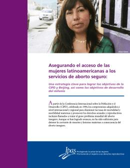 Asegurando el acceso de las mujeres latinoamericanas a los