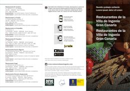 Restaurantes de la Villa de Ingenio Gran Canaria