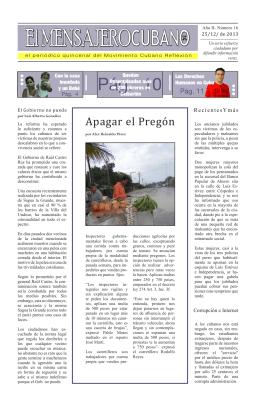 El MENSAJEROCUBANOX - Instituto Cubano por la Libertad de