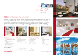 hola art`otel cologne, by park plaza