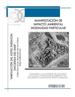 """""""Ampliación del Hotel Sheraton Hacienda del Mar"""""""