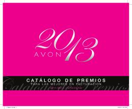 CATÁLOGO D E PREMIOS
