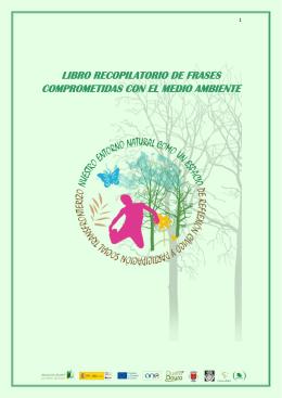 libro recopilatorio de frases comprometidas con el medio ambiente