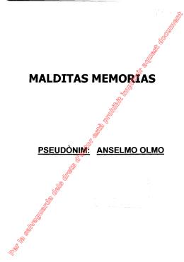 MALDITAS MEMORIAS
