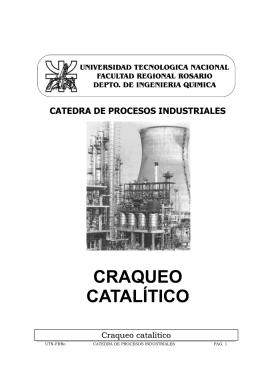 Craqueo catalítico