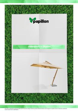 ombrelloni e gazebo - Papillon