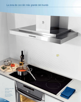Catálogo cocinas Balay, encimeras, placas cocción, vitroceramicas