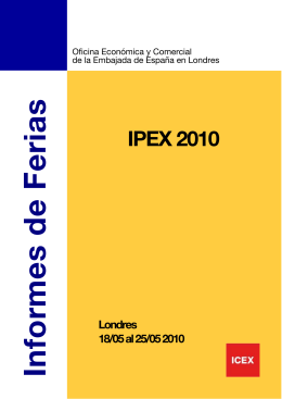 IPEX 2010 - Cluster do Produto Gráfico e do Libro Galego