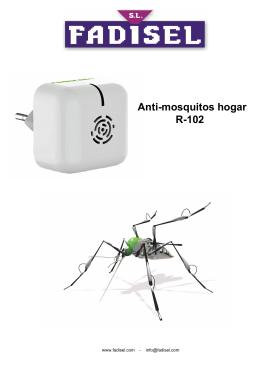Anti-mosquitos hogar R-102