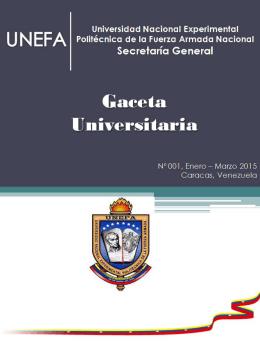 Gaceta Nº 01 - 2015