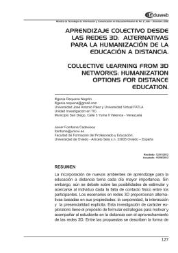 EDUWEB 6 2.indd - Portal de Revistas Electrónicas